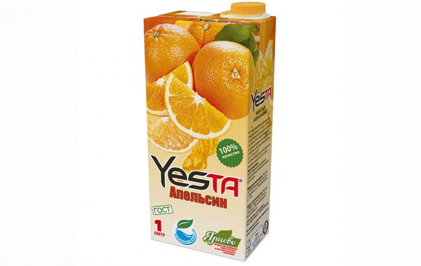 Нектар апельсиновый